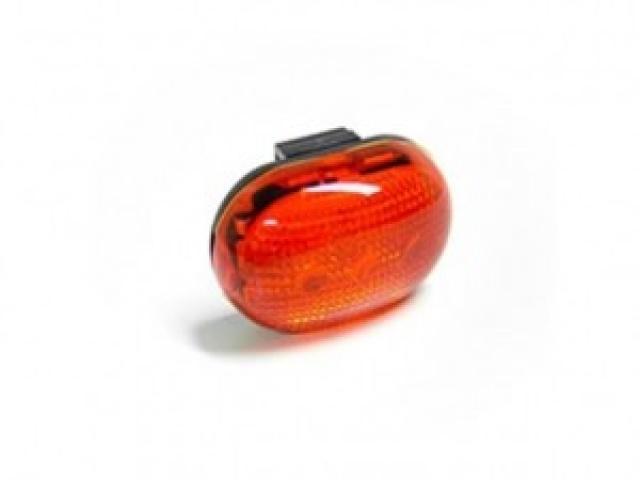 BERG  LED přídavné zadní světlo červené