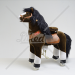 N4152 chocolate horse medium