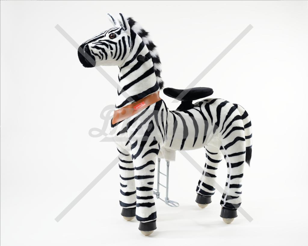 Ponnie Jezdící zebra velká