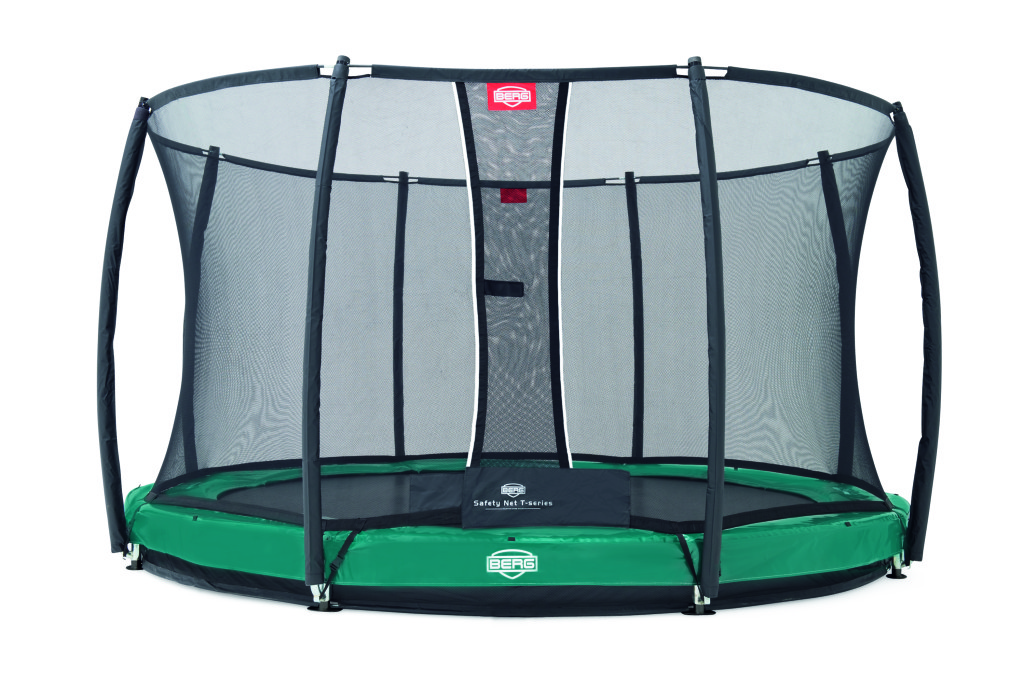 BERG Elite+ InGround Green 380 + ochranná síť T-series 380