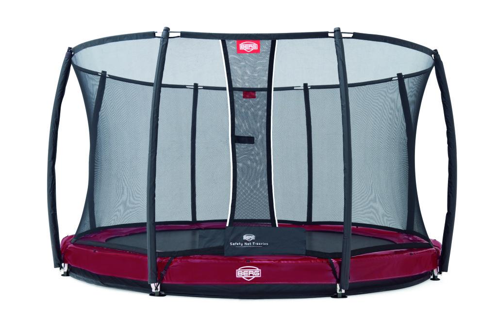 BERG Elite+ InGround Red 430 + ochranná síť T-series 430