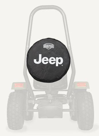 BERG přídané kolo na Jeep