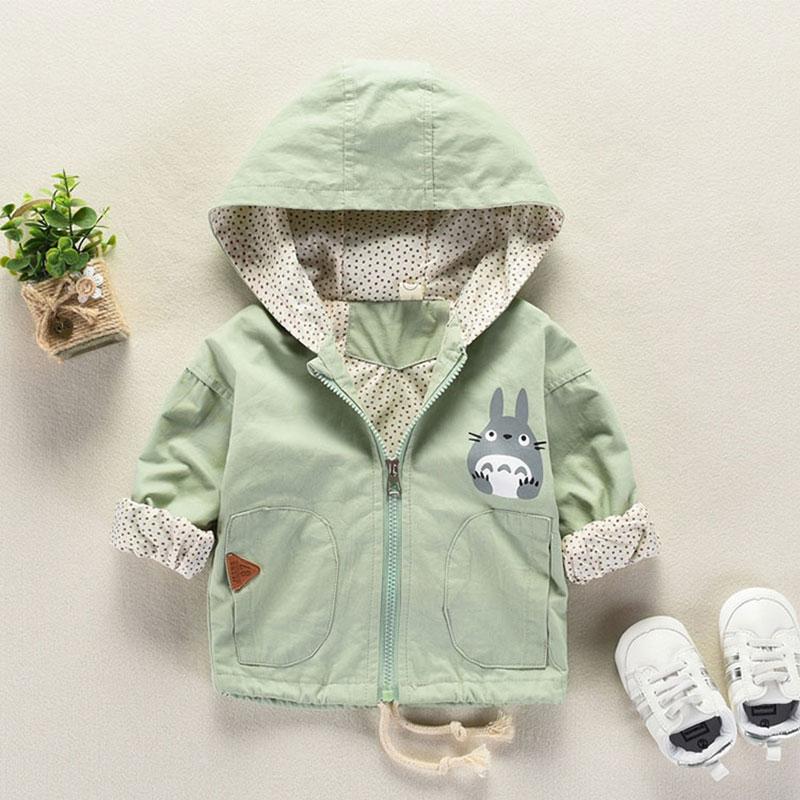 Chlapecká a holčičí bundička s kapucí – jaro/podzim