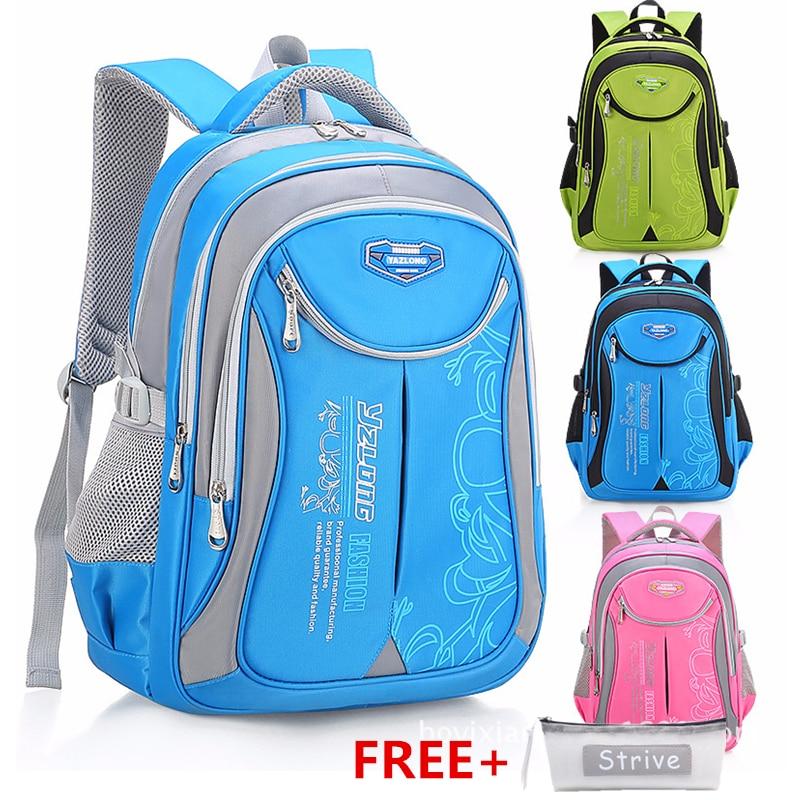 Školní batoh s penálem v různých barvách