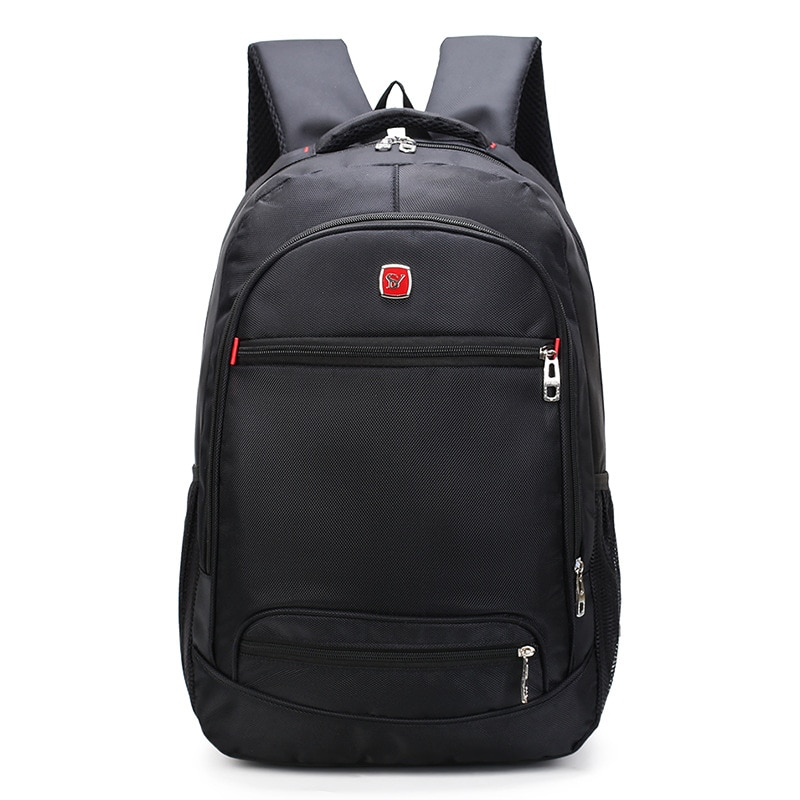 Velký elegantní černý batoh