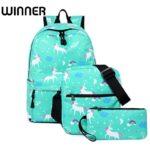 Set 3v1 batoh s kabelkou a taštičkou