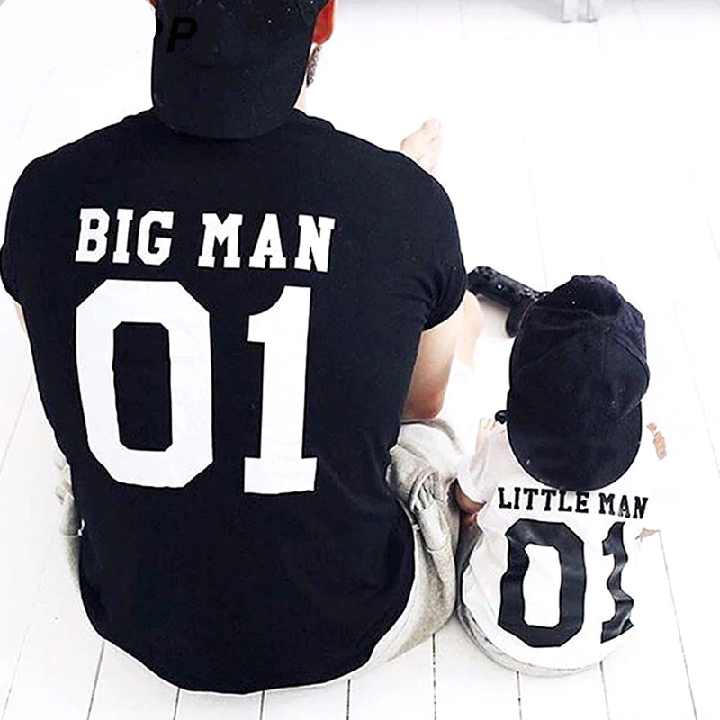 Stylové tričko BIG MAN & LITTLE MAN