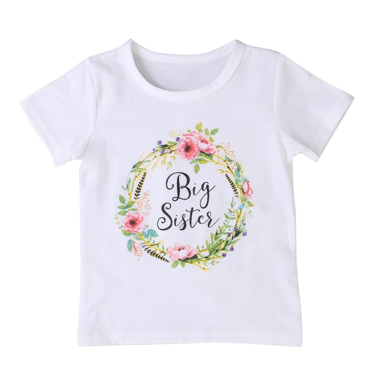 Sourozenecká trička Little Sister & Big Sister – IHNED ODESÍLÁME