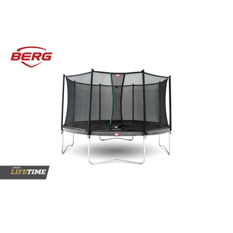 BERG Favorit Grey + Ochranná síť Comfort