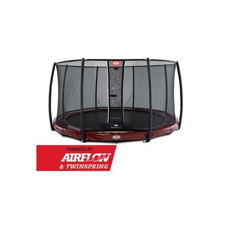 BERG InGround Elite Red + Safety Net Deluxe