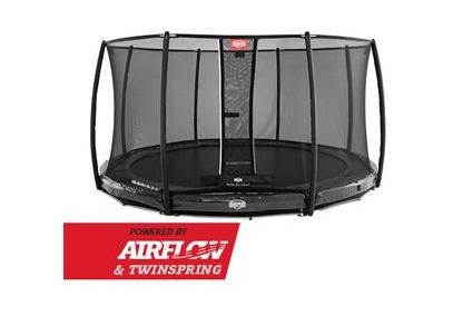 BERG InGround Elite Grey + Safety Net Deluxe