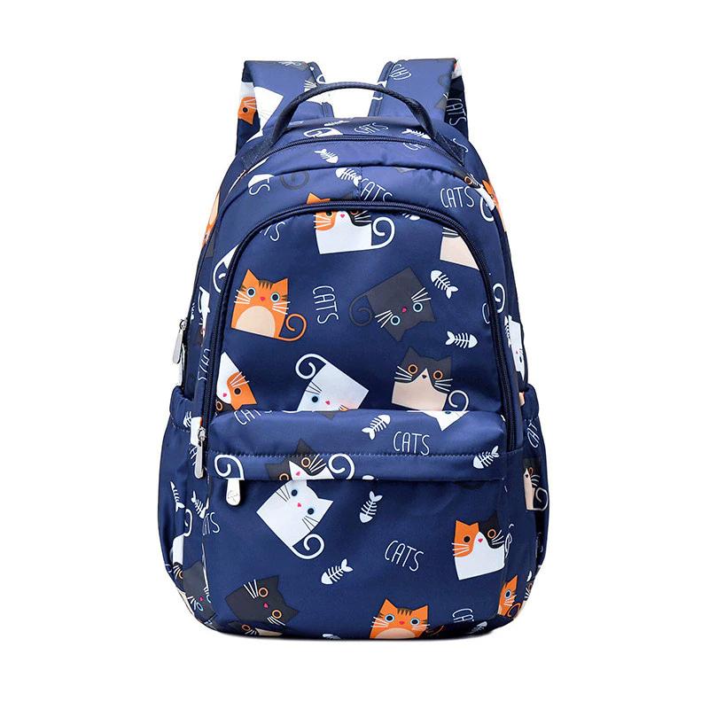 Školní batoh Kawaii potisk koček