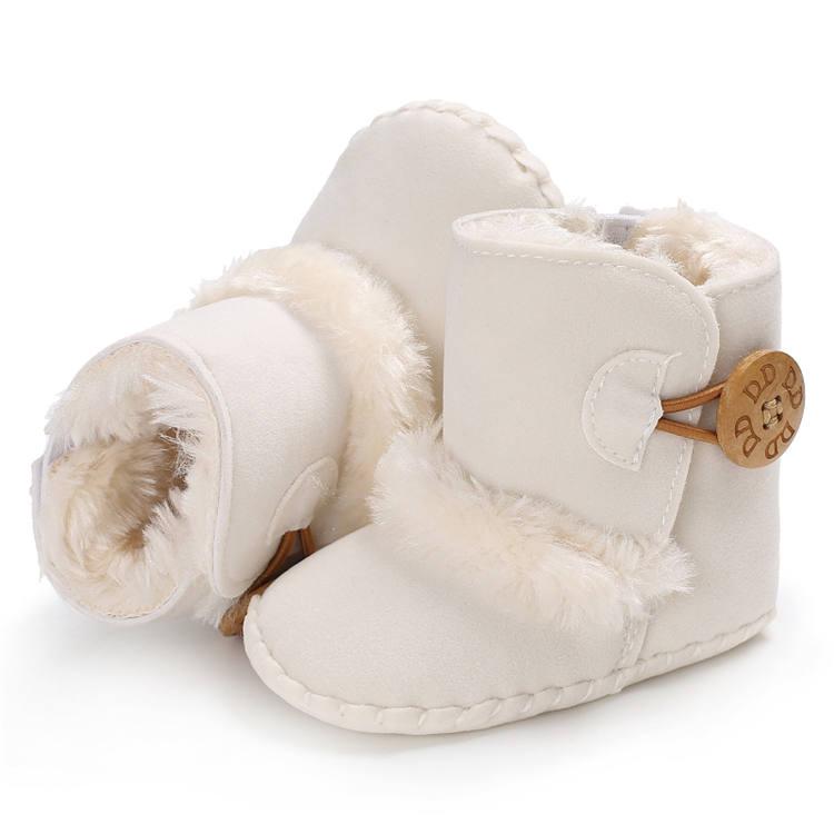 Teplé kojenecké válenky – Bílé