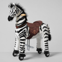 Ponnie Jezdící zebra střední