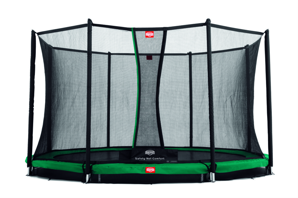 BERG InGround Champion Green 380 + ochranná síť Comfort