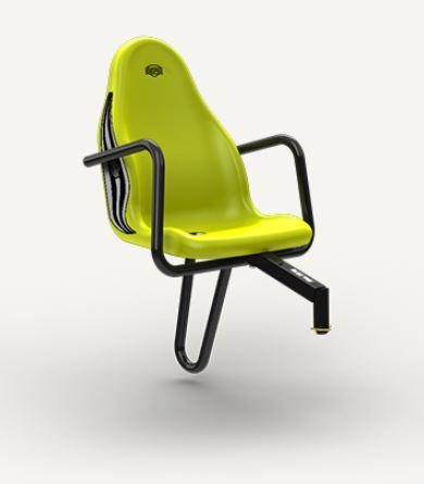 BERG přídavná sedačka na Claas