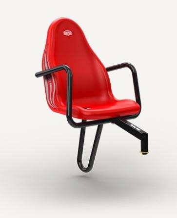BERG přídavná sedačka na Case-IH