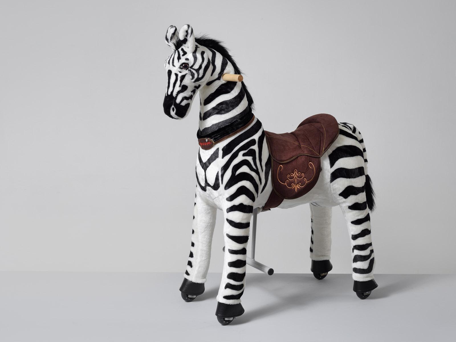 Jezdící zebra Ponnie Dixi M
