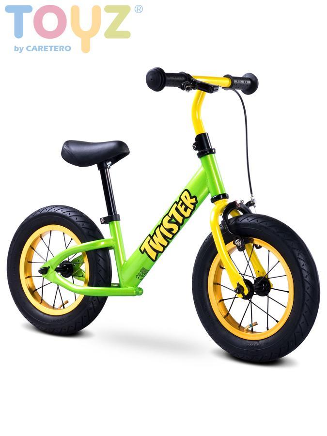 Dětské odrážedlo kolo Toyz Twister green