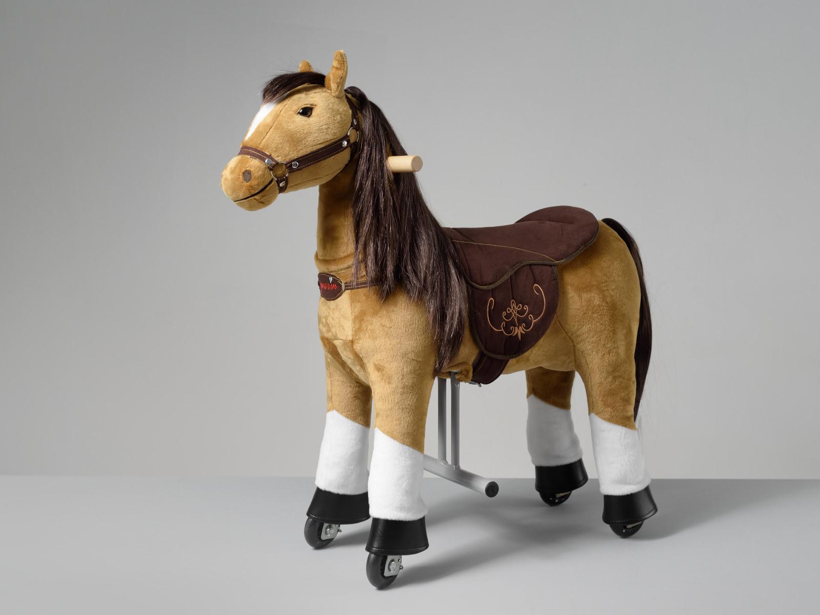 Fancy Ponnie S HOME – světle hnědý kůň s bílými znaky