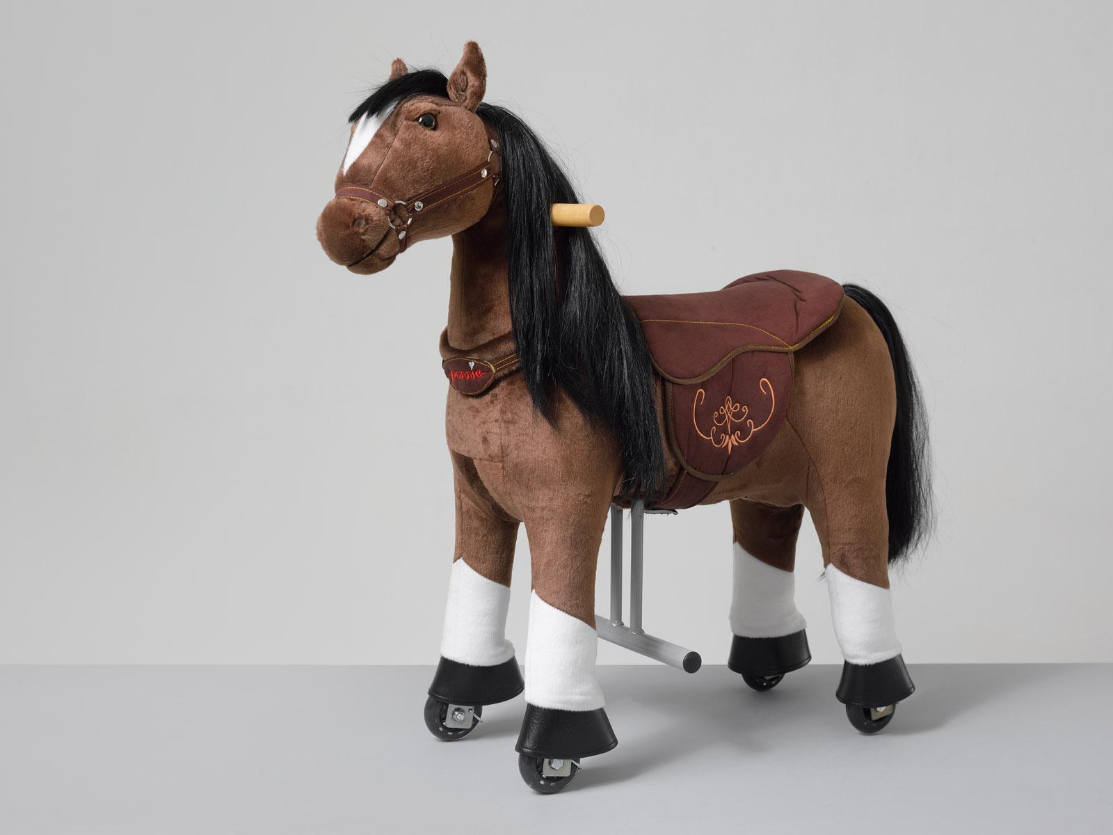 Happy Ponnie S HOME – hnědý kůň s bílými znaky