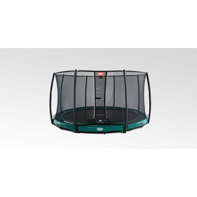 BERG InGround Elite Green + Safety Net Deluxe