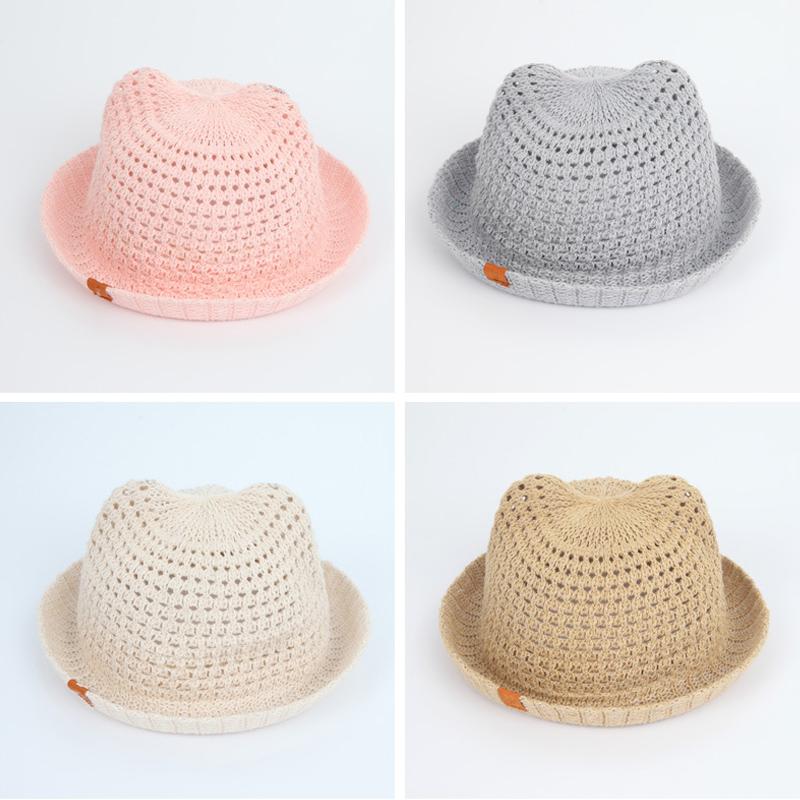 Letní háčkovaný klobouk – IHNED ODESÍLÁME