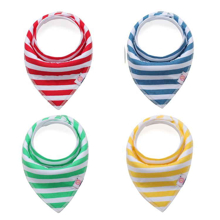 Kojenecké šátky – barevné pruhy