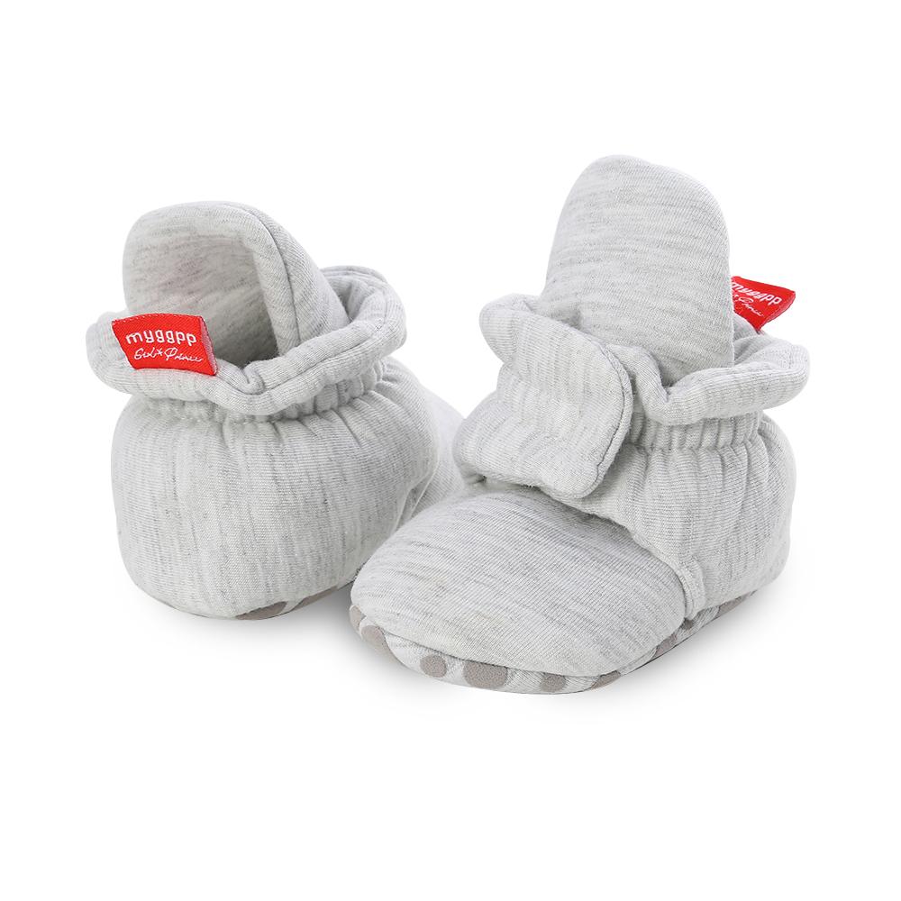 Capáčky pro miminko – Světle šedé