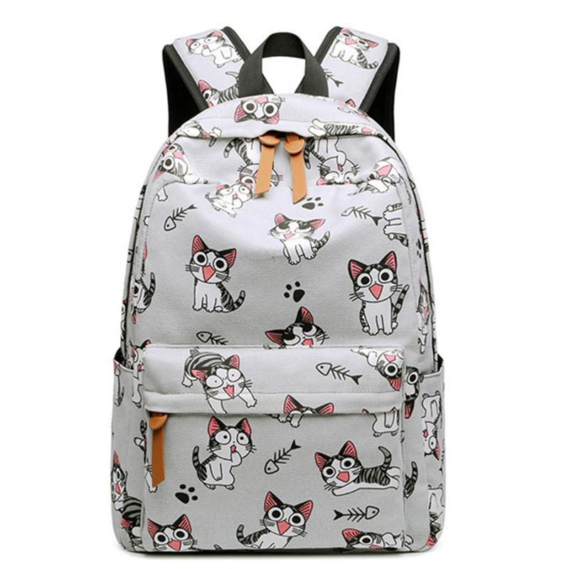 Školní batoh s koťaty